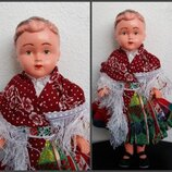 Кукла Lidova Tvorba Чехословакия 31 см куколка девочка,национальная одежда,костюм