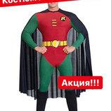 Robin костюм супергероя для взрослых.
