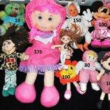 Набор лот мягких игрушек для девочек куклы Германия