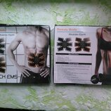 Стимулятор м'язів пресу Beauty Body Mobile-Gym 6 Pack EMS тренажер миостимулятор
