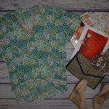 М - XL Фирменное блуза блузка туника как пляжная туника Франция