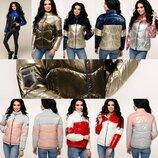 Новинки, стильні фабричні демісезонні куртки р. 44-54