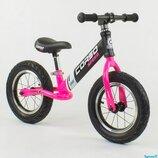 Беговел - велобег Corso 83712 надувные колеса 12 дюймов