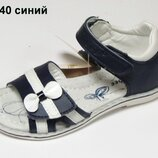 Кожаные босоножки сандали летняя обувь для девочки босоніжки взуття клиби clibee 140. р.25-28