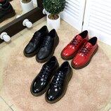 Демисезонные туфли Натуральная кожа