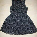 Красивое шифоновое платье на девочку 13-14 лет