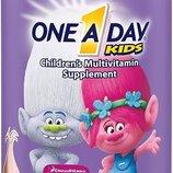 Bayer Комплекс детских мультивитамин 180 шт One A Day Kinder-Gummis 180 Stück
