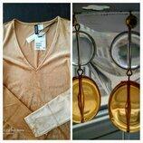 Платье новое H&M в подарок серьги
