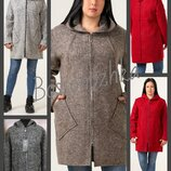 52-64, Кардиган пальто без подкладки. шерсть. большие размеры. Женский кардиган. Жіночий кардиган.