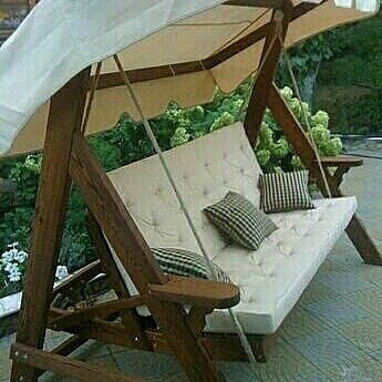 Садовые Качели Для тех, кто имеет детей или просто хочет с комфортом проводить время у себя на даче