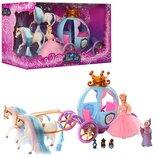TG Карета 778397/201, кукла, Золушка, фея, лошадь, мыши