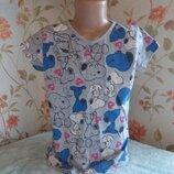 футболка 9-10 лет, 134-140 см, tammy, сост хор