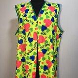 Ретро Диско Хиппи 60х 70х карнавальный костюм жилетка 50-52