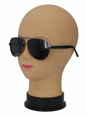 Стильные поляризационные солнцезащитные очки авиатор 9108