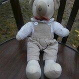 Текстильный мишка для куклы