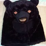 шапка медведь