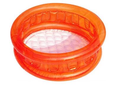 Надувной бассейн Bestway 51112, оранжевый 64x64x25 см.