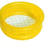 Надувной бассейн Bestway 51112, желтый 64x64x25 см.