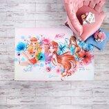 Детский Коврик TAC Disney Winx Watercolour 120х180см Дисней Клуб Винкс