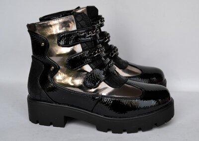 Демисезонные ботинки Леопард