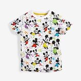 Футболка Mickey Mouse All Over Splat Short Sleeve T-Shirt