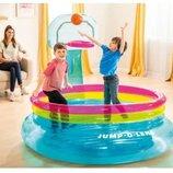 Бассейн 48265. Детский Бассейн. Надувной бассейн. Надувний басейн.
