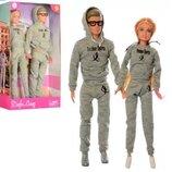 Семья DEFA 8360-BF. Кукла семья. Кукла Кен. Кукла Барби. Аналог.