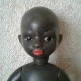 Кукла Ссср 31 см негр негритёнок африканец московская фабрика Художественных игрушек Росигрушка