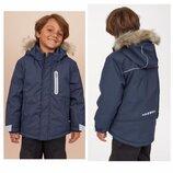 р.116-146, H&M теплые термо-куртки