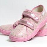 Кеды спортивная обувь для физкультуры в школу девочки дівчини валди waldi саша 30-36