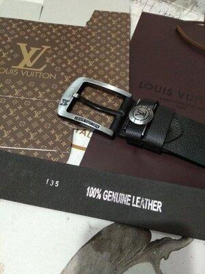 Продано: Ремень мужской кожаный в стиле Louis Vuitton, Луи Виттон