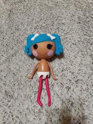 Кукла LALALOOPSY серии мультяшки - Снежинка, Лалалупси большая
