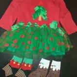 Платье на новый год 18-24м