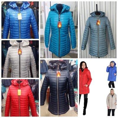 Демисезонные женские куртки Весна, размеры 44-54