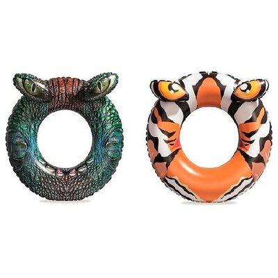 Круг Bestway 36122 крокодил, тигр