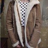 Дубленка женская, теплая куртка, дубленка ostin, очень теплая куртка, зимова куртка