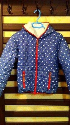 Куртка для дівчинки, дитяча куртка, детская куртка, очень теплая, на рост 152 см.