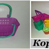 Детские игрушки фигурки Игрушки Корзина Shopkins Шопкинс корзины
