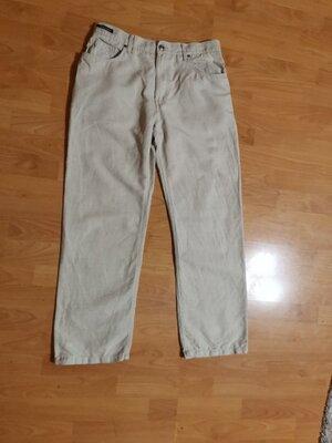 Брюки льняные, брюки летние , штаны льняные, штаны летние, лен 55%, Blue Harbour