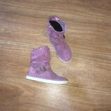 Замшевые деми ботинки Lurchi Salamander, р-р 30, ст 19,5
