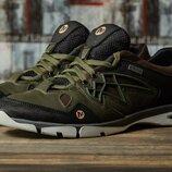 Мужские кроссовки Merrell Waterproof, темно зеленые
