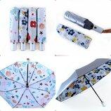 Компактный прочный складной детский зонт Автомат для девочки подростка