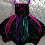 Карнавальное платье волшебницы колдуньи на 7-8лет