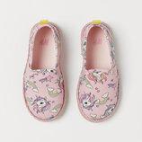 Эспадрильи летние на девочку H&M новая коллекция
