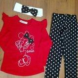 Костюм для девочек Minnie Mouse от 2-8 лет