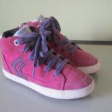 Итальянские замшевые ботинки Geox, размер 30