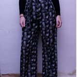 Легкие брюки /штаны палаццо р.L Next с высокой талией