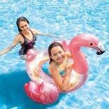 Надувной круг Фламинго с блестками Intex 56251