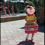 Красивое платье лето 3-5 лет.