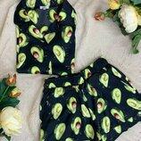 Пижамка авокадо